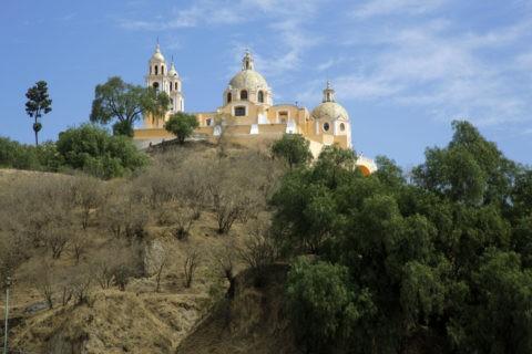 チョルーラ遺跡 ロス・レメディオス教会 世界遺産