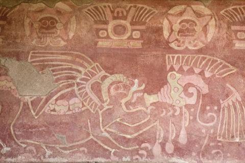 ジャガーの宮殿 壁画 世界遺産