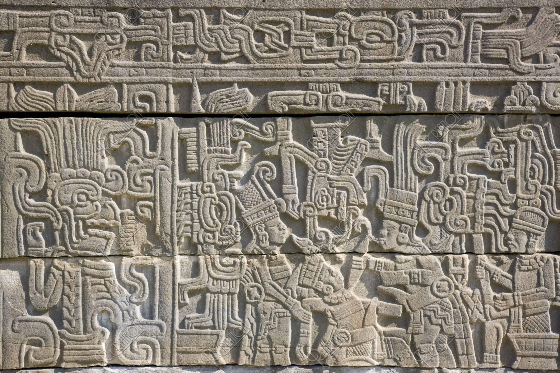 エルタヒン遺跡 球戯場 生け贄のレリーフ 世界遺産