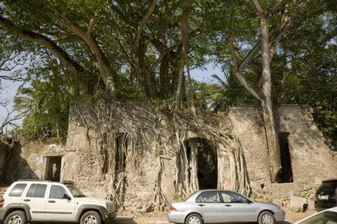 コルテスの住居跡