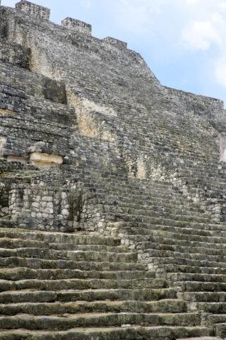 カラクムル遺跡 第2神殿 世界遺産