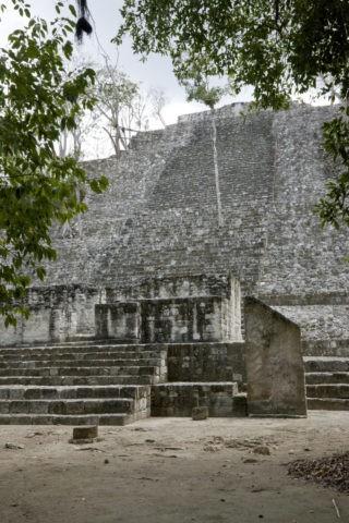カラクムル遺跡 第1神殿 世界遺産