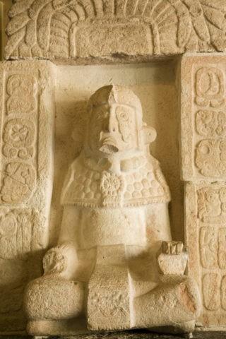 ウシュマル遺跡の出土品 世界遺産