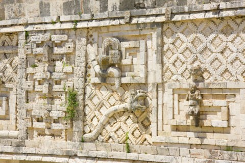 ウシュマル遺跡 尼僧院 世界遺産