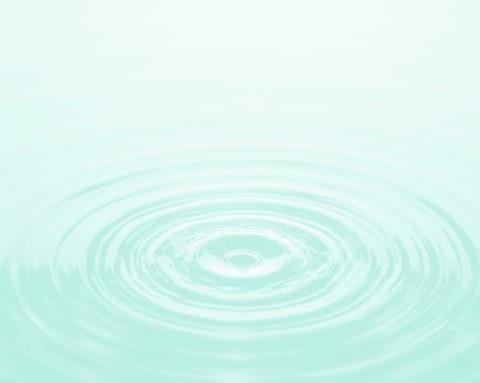 水面の輪のイメージ CG