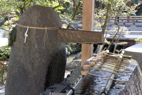 御手洗と上賀茂神社 世界遺産