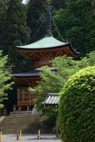 嵐山法輪寺多宝塔
