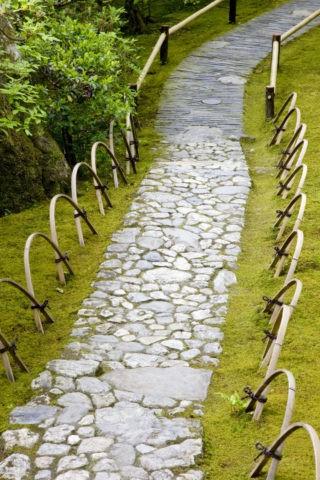 大河内山荘 石畳の道