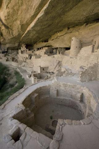 メサベルデ国立公園 クリフパレス 世界遺産