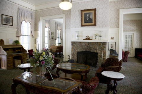 ワオナホテル ロビー ヨセミテ国立公園 世界遺産
