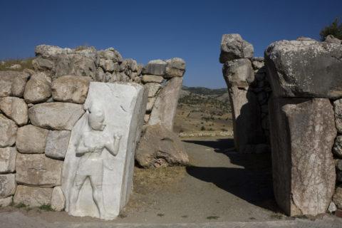 ハトゥシャシュ遺跡 王の門 世界遺産
