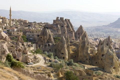 岩窟住居 カッパドキア 世界遺産
