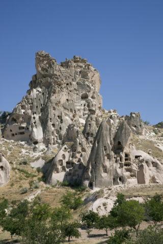 ウチヒサールの奇岩 世界遺産