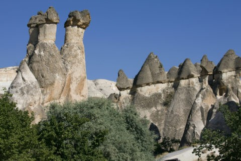セルベの谷 キノコ岩 世界遺産