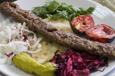 トルコ料理 アダナケバブ
