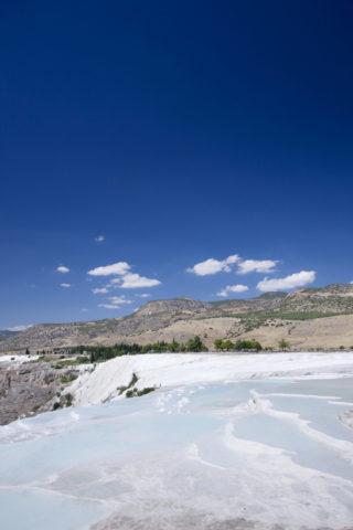 パムッカレの石灰棚 世界遺産