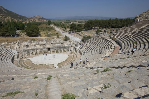 エフェス遺跡 大劇場 世界遺産