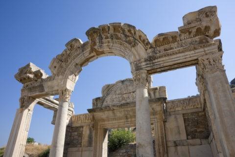 エフェス遺跡 ハドリアヌス神殿 世界遺産