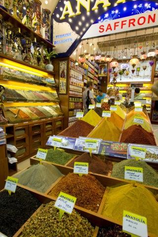 エジプシャンバザール 香辛料店