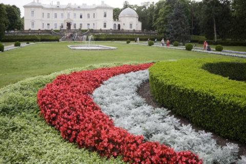 琥珀博物館と庭園