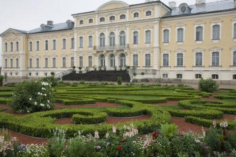 ルンダーレ宮殿 庭園