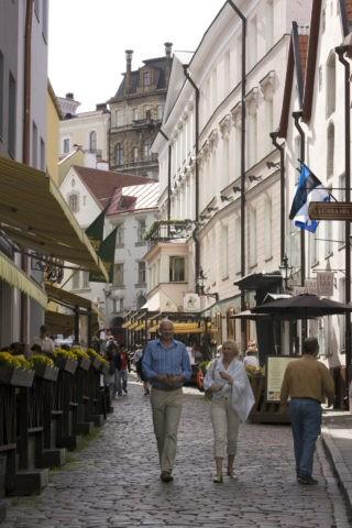 タリン旧市街の町並み 世界遺産