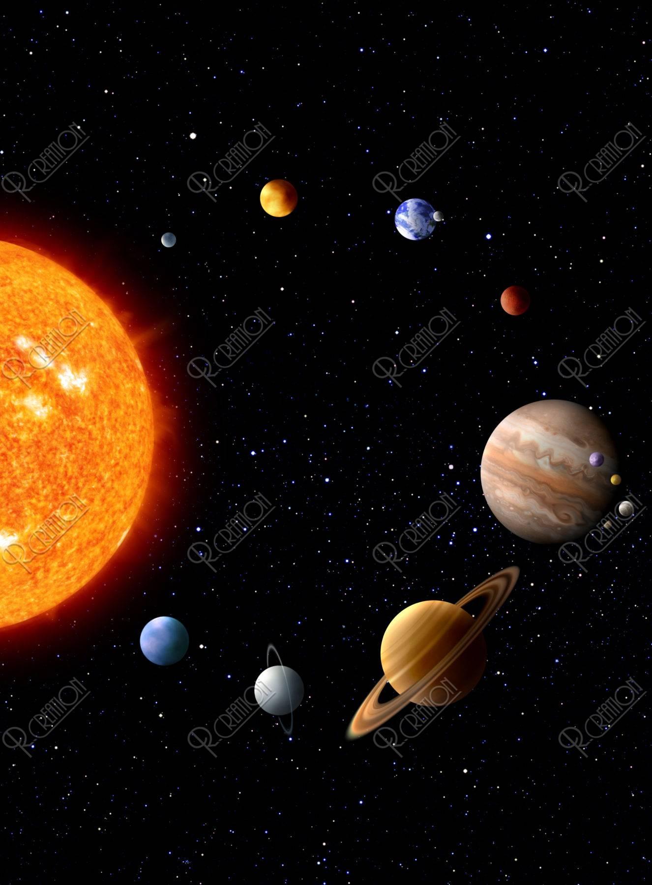 太陽系 CG