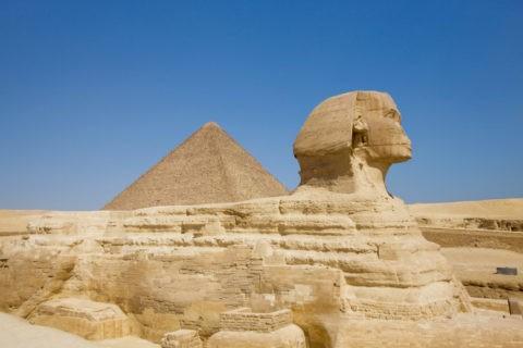 スフィンクスとカフラー王のピラミッド 世界遺産
