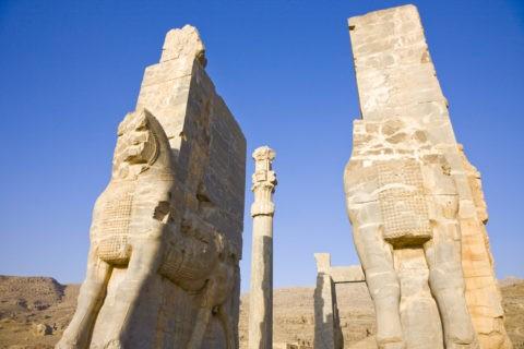 ペルセポリス遺跡 クセルクセス門 世界遺産