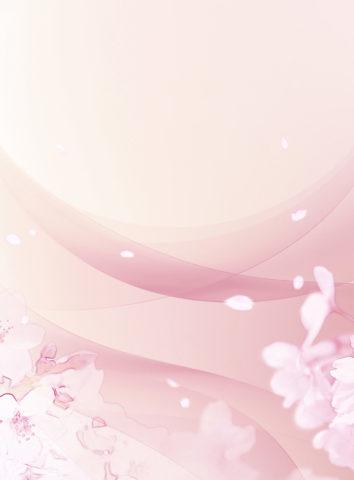 春の風と桜吹雪