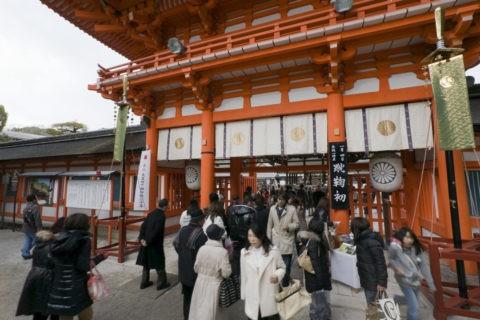 初詣と下鴨神社 世界遺産