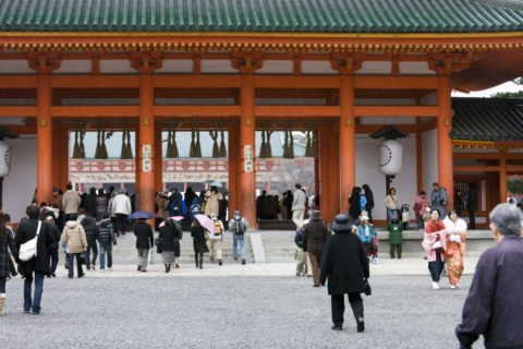 平安神宮の初詣