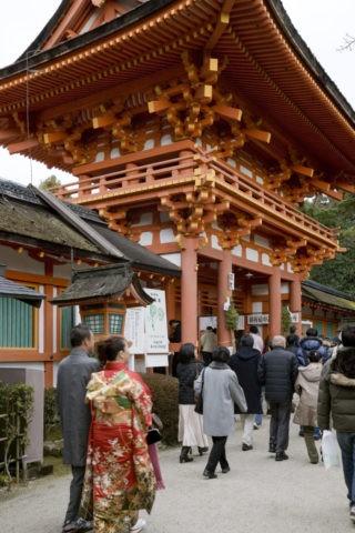 上賀茂神社の初詣 世界遺産