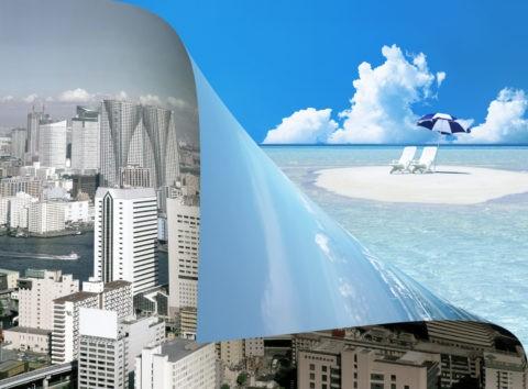 都会とリゾートイメージ