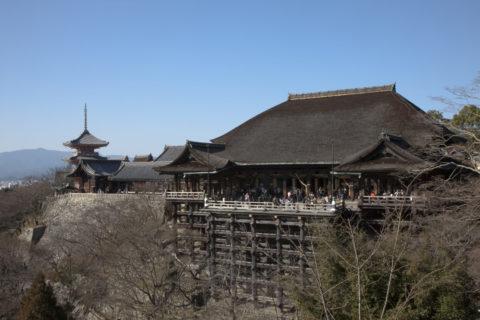 冬の清水寺 世界遺産