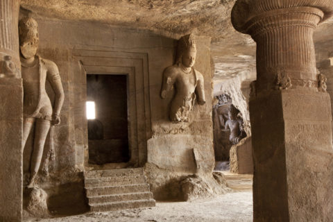 エレファンタ島の石窟寺院 世界遺産