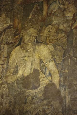 アジャンタ石窟 第1窟 蓮華手菩薩 世界遺産