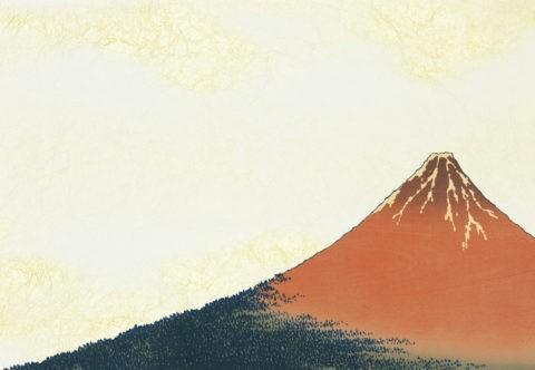 赤富士 CG