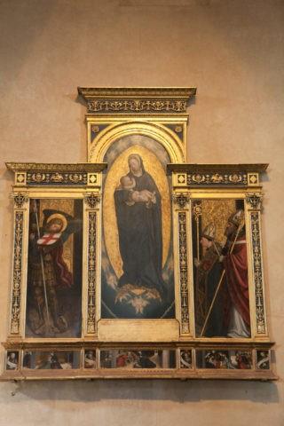 サクラディサンミケーレ僧院 宗教画