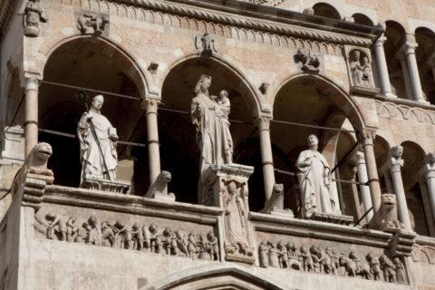 クレモナ 大聖堂の彫刻