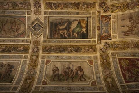 エステンセ城 天井画 世界遺産