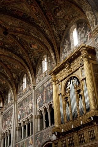 パルマ 大聖堂 パイプオルガン