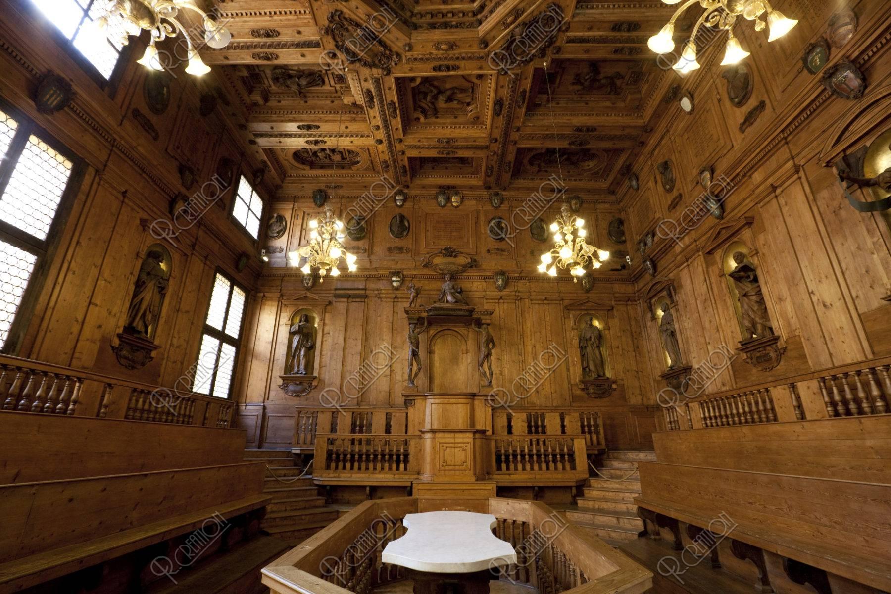 旧ボローニャ大学 解剖学教室