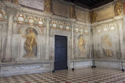 オリンピコ劇場 フレスコ画 世界遺産