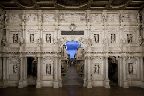 オリンピコ劇場 世界遺産