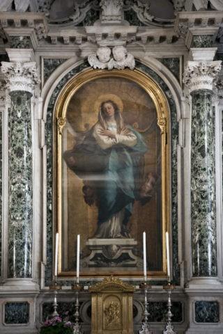 プリタ礼拝堂 宗教画