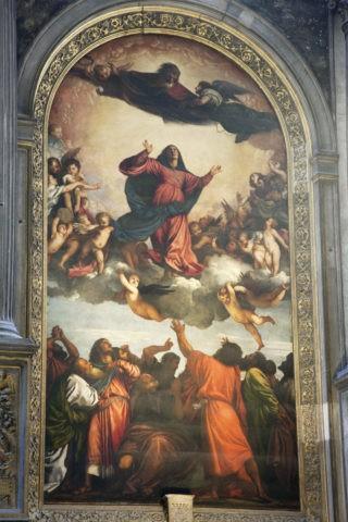 サンタマリアグロリオーサデイフラーリ聖堂 聖母被昇天 世界遺産