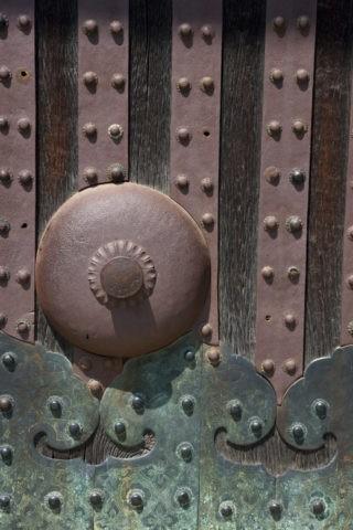 二条城 東大手門の飾り 世界遺産