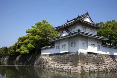 二条城 やぐらと外堀 世界遺産