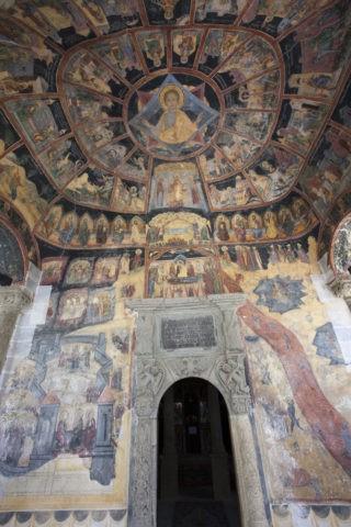 シナイア僧院のフレスコ画